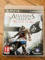 Jeu assassin's creed black flag ps3 Playsation 3 assassins avec boitier