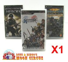 1x SONY PSP GAME CLEAR PROTECTIVE BOX PROTECTOR SLEEVE CASE  FREE SHIPPING!
