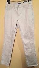 NWT NYDJ Not Your Daughters Jeans Skinny Beige Jeans Size 10P Inseam 28