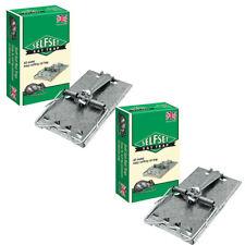 More details for 2xself set rat trap metal heavy duty galvanised indoor outdoor rodent control uk