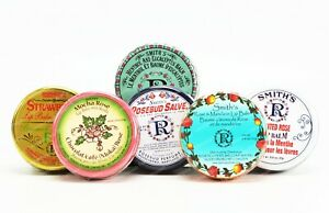 Rosebud Lip Balm Salve Tin choose your flavor - NEW