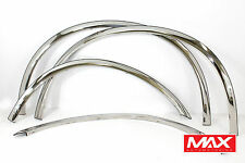 FTFD101 1999-2007 Ford F-250 F-350 Super Duty CHROME Stainless Fender Trim