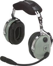 David Clark H10-21 Green Headband Headset PN 40074G-03