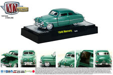 STOCK GREEN 1949 MERCURY M2 MACHINES 1:64 SCALE DIECAST METAL MODEL CAR