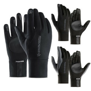 Women Ladies Winter Gloves Thermal Soft Lined Lightweight Touch Screen Non-slip