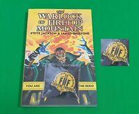 The Warlock of Firetop Mountain ***BRAND NEW + KEYRING!!*** Fighting Fantasy