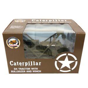 USA Military 1/16 Caterpillar CAT D4 2T Crawler w/ Le Tourneau Blade Cust-1505