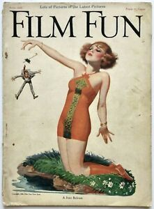 Vintage June 1923 Film Fun Magazine Flapper Break Up Pin-Up Cover Enoch Bolles