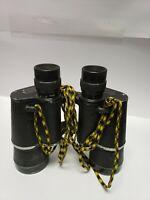 VINTAGE STELLAR  BINOCULARS 7 X 50  COATED OPTICS 375 FT AT 1000 YDS. W CASE