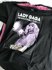 Lady Gaga The Fame Monster Tour T-Shirt Large New