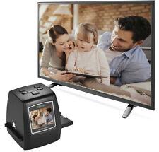 22MP USB Slide & Film Scanner Convert Slides & Negatives Film to Digital Photos