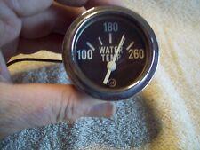 AC Water Temperature Temp Gauge 2 1/8 diameter Electric