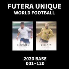 FUTERA WORLD FOOTBALL UNIQUE BASE CARD 2020 SOCCER CHOOSE PLAYER