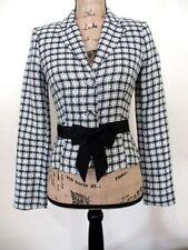 A.B.S. by Allen Schwartz NWOT B&W Women's Size 2 Checkered Jacket Free Shipping