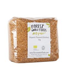 Biologique Doré Lin (Graines de Lin Graines de Lin) 2kg - Forest Whole Foods