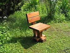 Holzstuhl,  Holzbank Gartenbank Gartenmöbel