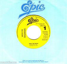 "7"" - Britny Fox - Save The Weak (SPANISH PROMO FOR JUKE BOX EDIT 1987,MINT*NUEVO"