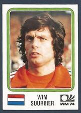 PANINI WORLD CUP STORY #078-MUNICH 74-NEDERLAND-HOLLAND-WIM SUURBIER