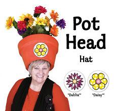 Halloween Costume for Women - Trendy Garden Pot Head Halloween Hat
