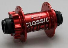 MOZZO RUOTA ANTERIORE American Classic MTB 20 mm Thru ROSSO 32 fori per barra assi