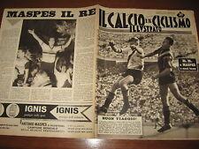 IL CALCIO E CICLISMO ILLUSTRATO 1961/35 HITCHENS MASPES MILAN ROMA INTER SAMP