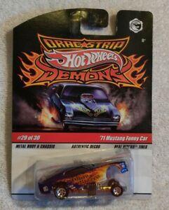 Hot Wheels 2009 Drag Strip Demons VHTF Go To Blazes '71 Mustang Funny Car 29/30