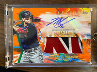 Michael Chavis 2020 Topps Inception Auto Jersey Patch 04/10 RC Boston Red Sox