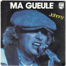 JOHNNY HALLYDAY Ma Gueule Comme Le Soleil 1980 Imprimerie Polygram messageries