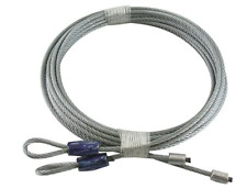"Garage Door Cables For Torsion Springs - Pair 8' Door (114"")"