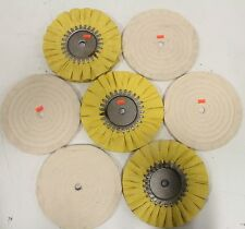 "Lot of (7) NEW OEM Polishing Pads 8"" G2382 G2381"