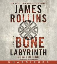THE BONE LABYRINTH unabridged audio book on CD by JAMES ROLLINS - Brand New!