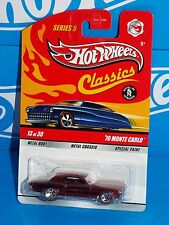 Hot Wheels 2009 Classics Series 5 #13 '70 Monte Carlo Spectraflame Red w/ RL5SPs