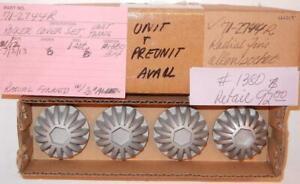 1958-1970 Triumph T100 T120 rocker cover valve cap CUSTOM 70-4610= 71-2744 SET/4