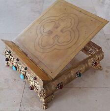 Museal ! Altar Tischpult vergoldet Messbuchpult Missalepult Epoche Napoleon III
