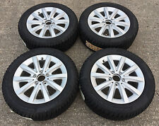 """16"""" GENUINE MERCEDES A CLASS ALLOY WHEELS FITTED WITH BRIDESTONE WINTER TYRES"""