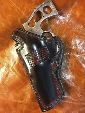 "Fits Ruger Super RedHawk, Ruger Red Hawk 4"" Barrel 44 Magnum,45LC Leather Left"