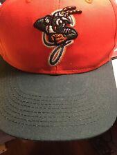 Greensboro Grasshoppers OSFM Adjustable Adult Baseball Hat Pirates Farm EUC