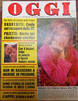 OGGI 25/1976 DI LAZZARO ANDREOTTI PAJETTA GIMONDI NIGRISOLI PICASSO MARCELLA