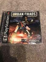 Urban Chaos (Sony PlayStation 1, 2000)no Booklet