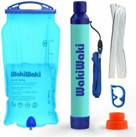 3L Portable Gravity-Fed Water Purifier Portable water filter straw BPA Free