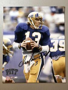 Dan Marino Autographed Signed Pitt Panthers 8x10 Color Photo Fanatics