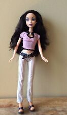 My Scene Barbie Doll Nolee Shopping Spree Original Pants Earrings Pink Top Shoes