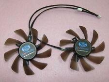 85mm XFX Sapphire AMD VAPOR-X HD 7950 7970 Dual Fan Replacement FD9015U12S R123b