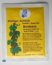 KITZINGER WEINHEFE TROCKENHEFE REINHEFE - Bordeaux -  für 10-50l Wein - Arauner