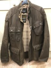 Barbour international wax jacket large (L) Brown