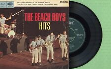 THE BEACH BOYS / Help Me Rhonda / CAPITOL EAP 1-20781 Press England 1965 EP VG