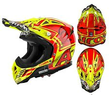 CAPACETE CASCO MOTO CROSS ENDURO AIROH AVIATOR 2.2 SIX DAYS SPAIN 2017 LTD TG S