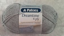 Patons Dreamtime Merino 4 Ply #2959 Silver - Pure Wool 50g