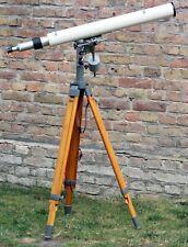 CARL ZEISS JENA Teleskop Fernrohr TELEMENTOR T-Montierung Holz DREIBEINSTATIV