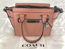 d7d1e0aa41 Coach Swagger 20 Mini Bag Pink
